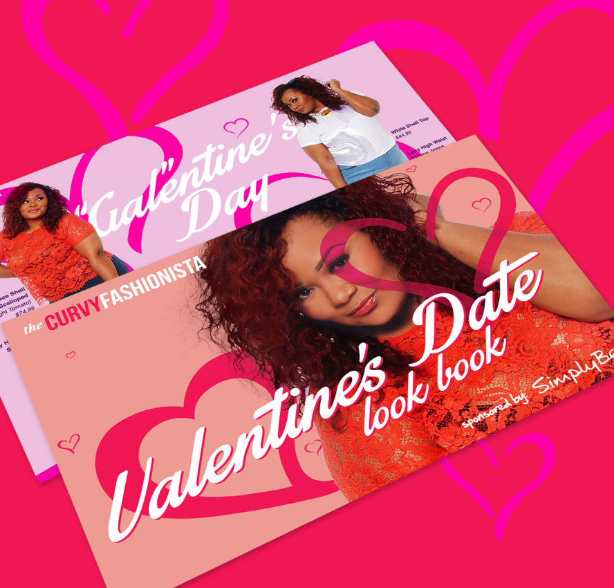 Simply Be Valentine's Day Look Book