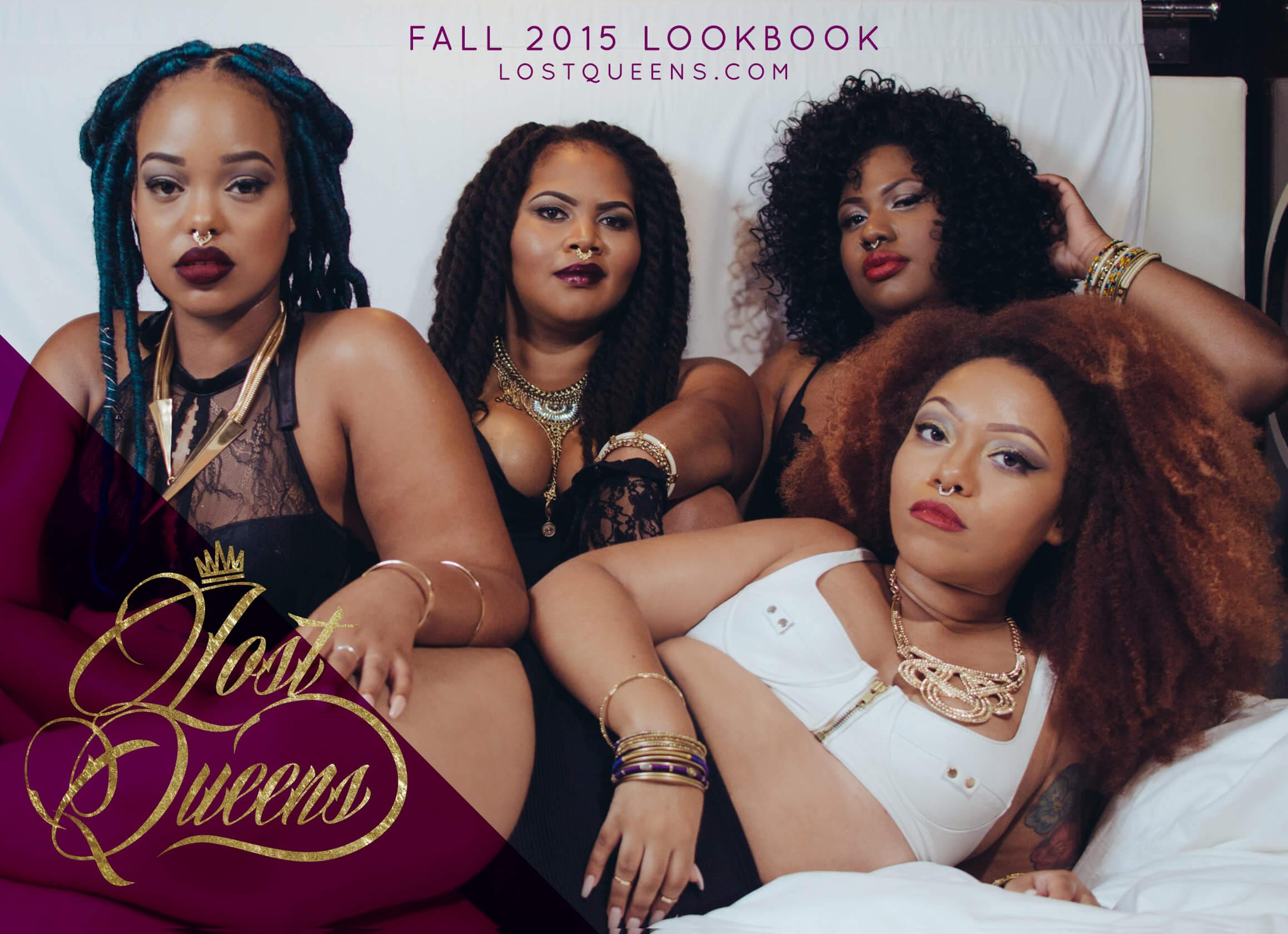 Lost Queens Fall '15 Campaign Lookbook